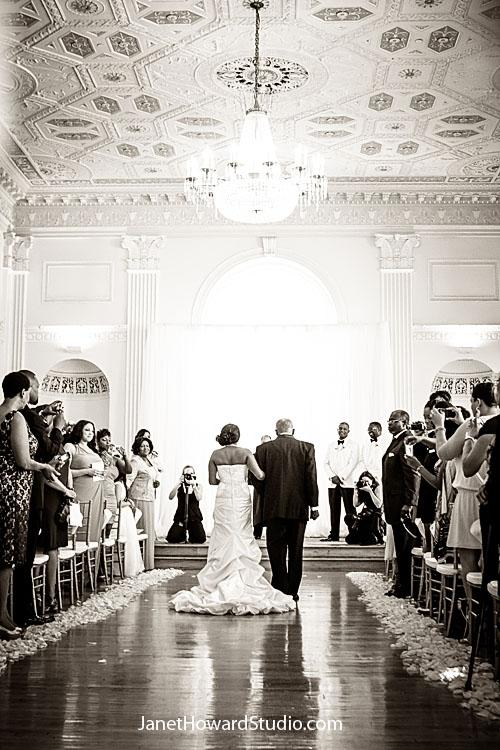 Bride entrance at Atlanta Biltmore
