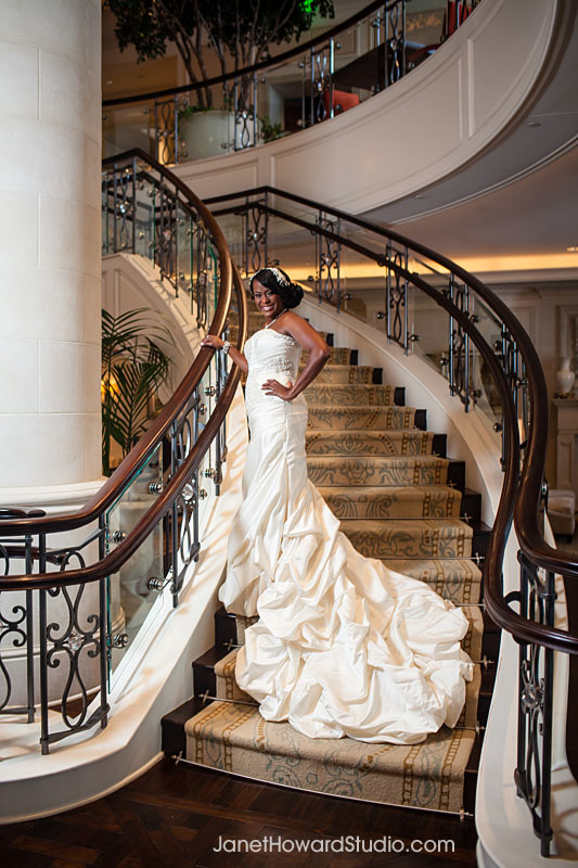 Bride at St. Regis.