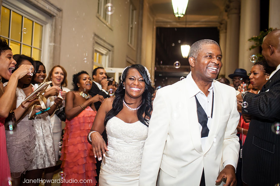 Wedding departure at Biltmore Ballrooms Atlanta